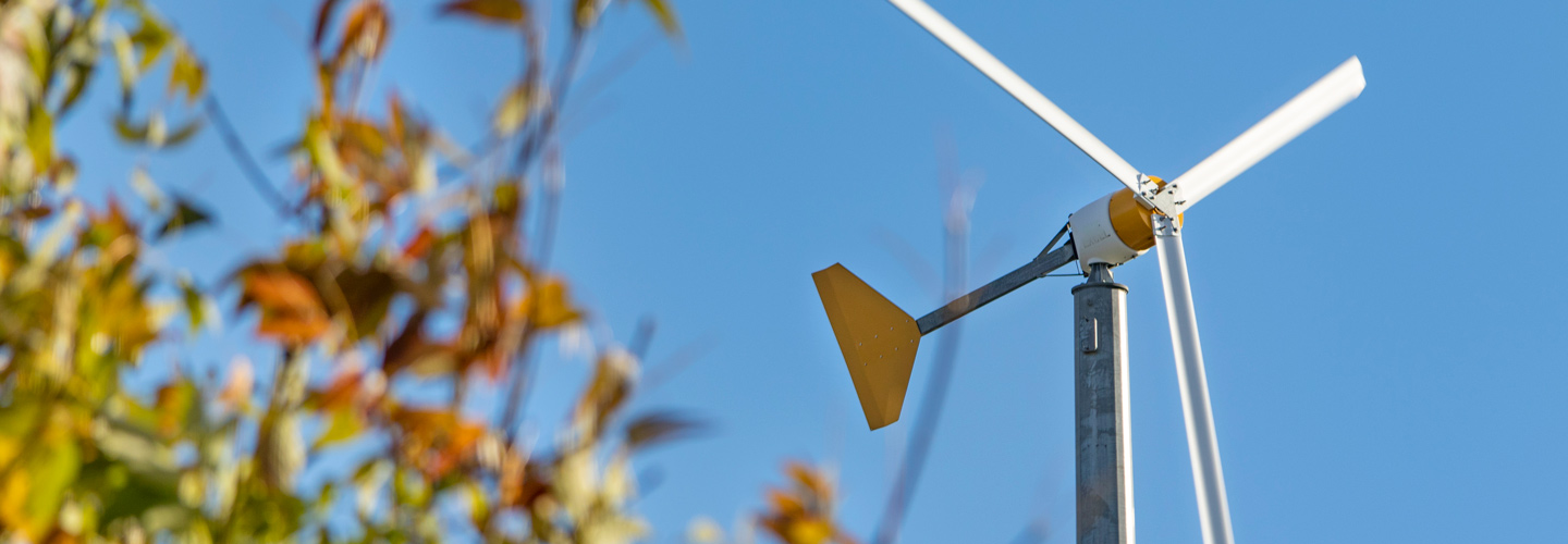 Wind Turbine on Campus